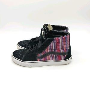 Vans Leather Upper Boho Wester Style Sneakers